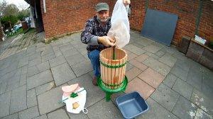 Obstsaftpresse richtig zusammenbauen