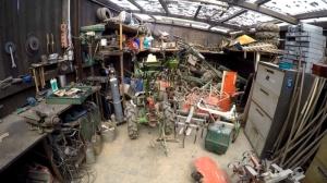 Maschinenpark fuer den Garten