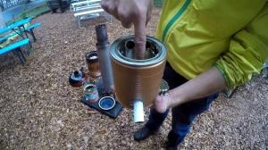 Holzvergaserofen Selbstbau