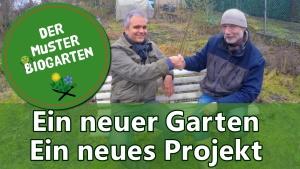 Ein neuer Garten ein neues Projekt Beitragsbild