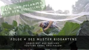 Der Bio Mustergarten Gemueseschutznetz