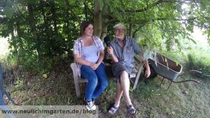 Besuch im Selbstversorgergarten