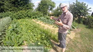 Experimente im Garten