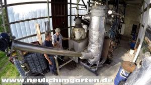 Holzvergaserkraftwerk