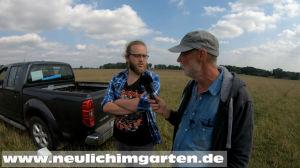 Stefan zuechtet Hirsche und Damwild. Ein Erlebnis ganz besonderer Art.