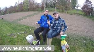 Komposttee im Garten