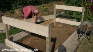 Hochbeet selber bauen